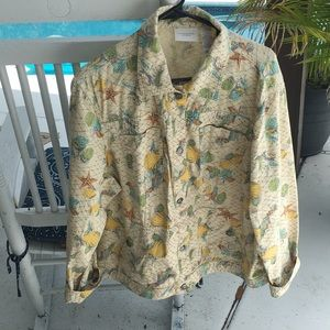 Liz Claiborne cotton jacket MINT